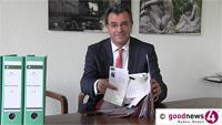 """Stunde der Wahrheit für das Neue Schloss am Montagabend - Fast 1000 Baden-Badener haben Protest-Karten unterschrieben - Fraktionen üben angeblich """"einen wahnsinnigen Druck"""" auf Gemeinderäte aus"""