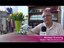 Baden-Badener Einzelhändler Michael Greising im goodnews4-VIDEO-Interview