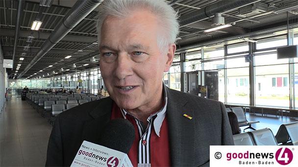 """Neuer Rückschlag für Flughafen Karlsruhe Baden-Baden – """"Wahrscheinlich nur 35 bis 40 Prozent Passagiere"""" – FKB-Chef Manfred Jung: """"Am Samstag 350 Passagiere, die verpflichtend getestet werden mussten"""""""