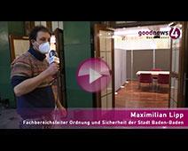 goodnews4-VIDEO-Rundgang Kreisimpfzentrum Kurhaus Baden-Baden | Maximilian Lipp