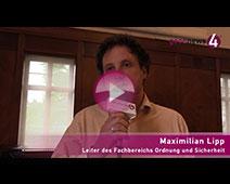 Maximilian Lipp wendet sich an Baden-Badener Gastronomen