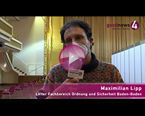 Kreisimpfzentrum Kurhaus Baden-Baden fast startklar | Maximilian Lipp