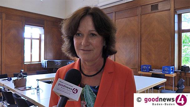 """HEUTE GENAU VOR EINEM JAHR: Bewegte Margret Mergen – """"Ich bin gewillt, diese Prüfung anzunehmen"""" – goodnews4-VIDEO-Interview mit der Baden-Badener Oberbürgermeisterin"""