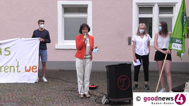 """Rede von OB Mergen auf dem Augustaplatz – An die Fridays for Future-Demonstranten: """"Ich verstehe Ihren Unmut"""""""