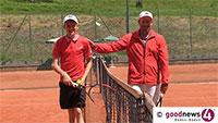 U13-Tennismeister Max Stenzer im Rathaus Baden-Baden – Empfang für den Deutschen Meister