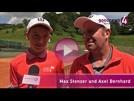 Junger Baden-Badener vor großer Tenniskarriere | Max Stenzer, Axel Bernhard