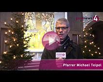 Mahnende Weihnachtsbotschaft von Pfarrer Teipel an die Baden-Badener