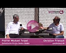 "Pfarrer Michael Teipel im Gespräch mit Christian Frietsch über ""Liebe"""
