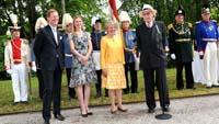 Gartenparty von Max Markgraf von Baden zum 80. Geburtstag - Auch in Baden-Baden weiter aktiv als Ehrenpräsident des Comité