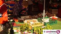 Auch die Händler bleiben zu Hause – Klosterplatz-Wochenmarkt verlegt