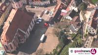 Baustelle Baden-Badener Marktplatz – Ab Montag gesperrt