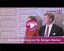 Deutscher Medienpreis für Königin Máxima