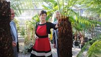 OB Mergen besucht Gartenamt, Stadtwerke und BBL