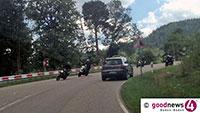 Wieder schwerer Motorradunfall auf Schwarzwaldhochstraße - Lebensgefährlich verletzt