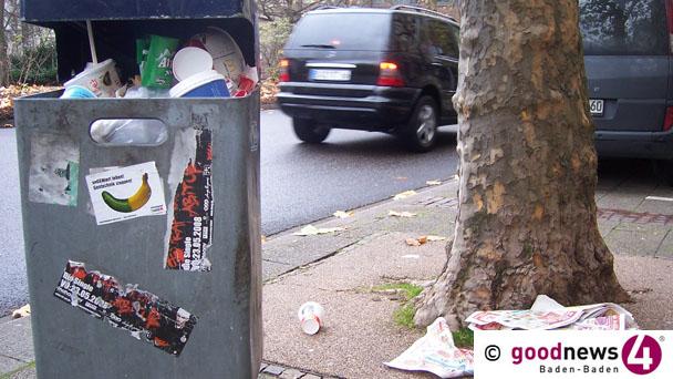"""Stadtverwaltung erinnert an """"Bürgerpflicht"""" – """"Beseitigen von Schmutz, Unrat, Unkraut, Laub und Astwerk"""""""