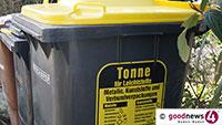 Einbrecher in Sandweier – Mülltonne als Steighilfe