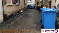 Zur Weihnachtszeit quellen die Mülltonnen über – Tipps des Baden-Badener Rathauses