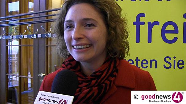 """""""Von Baden-Baden lernen heißt siegen lernen"""" - FDP-Generalsekretärin Nicola Beer: """"Es ist völlig falsch über Einheits- und Gemeinschaftsschulen zu gehen und wir wollen, dass die Eltern auswählen können"""""""