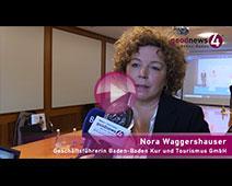 Nora Waggershauser zum neuen Baden-Badener Tourismus-Konzept