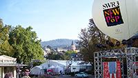Gewaltiger Aufmarsch im Baden-Badener Kurgarten – 13 Ansprechpartner für die Medien zum SWR-Pop-Festival