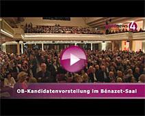 OB-Kandidatenvorstellung im Bénazet-Saal