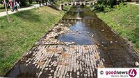 Dramatische Gewässersituation in Baden-Baden – Verbesserung aktuell nicht in Sicht