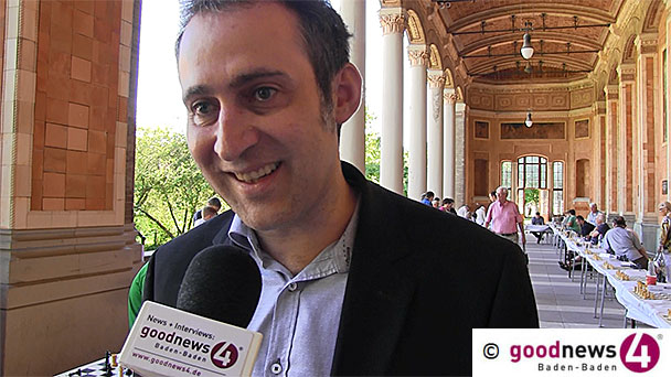 """Deutschlands Schachmetropole heißt Baden-Baden - OSG-Vorsitzender Patrick Bittner: """"Alle Klassen belegt von der Kreisklasse bis zur ersten Bundesliga"""" - Und: """"Wieder Deutscher Meister werden - ganz klar"""""""