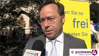 """Patrick Meinhardt verschiebt Entscheidung über OB-Kandidatur - """"Eine Latte von Aufgaben"""" als Generalsekretär der FDP in Baden-Württemberg - """"Meinung und Stil"""" nach Berlin tragen"""