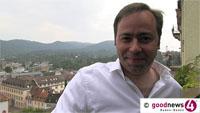 """Patrick Meinhardt nähert sich OB-Kandidatur in Baden-Baden - """"Weil mich unendlich viele Menschen darauf ansprechen"""" - Zuerst will er aber """"für den 22. September kämpfen"""""""