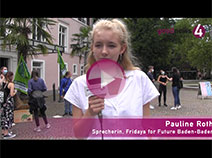 Fridays for Future Demo in Baden-Baden | Pauline Roth