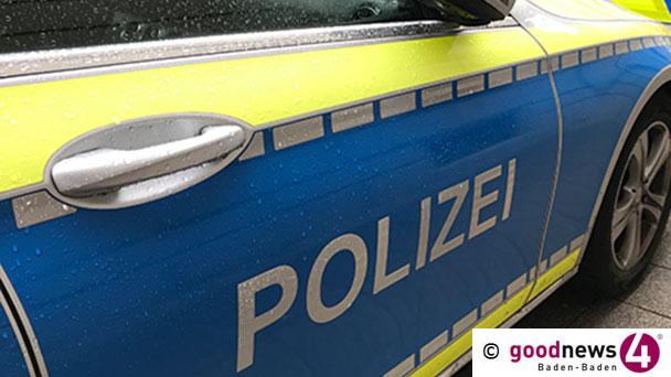Polizei voll des Lobes für Baden-Badener Unfallverursacherin