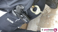 Polizisten getreten und geschlagen – Pfefferspray im Einsatz bei Wohnungsdurchsuchung in Bühl