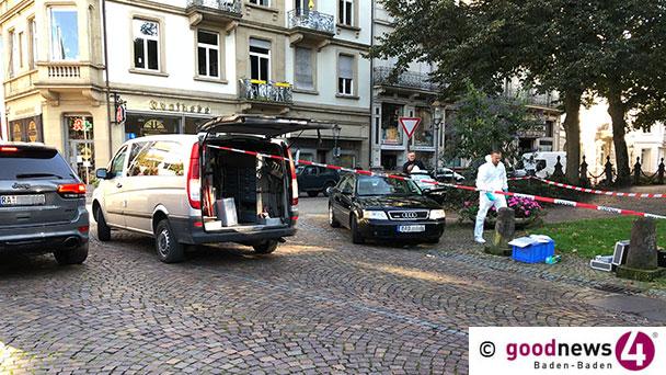 """Weitere Hintergründe zum Todesfall am Baden-Badener Augustaplatz – Offenbar Überfall in Tiefgarage – """"Ich wurde gerade überfallen, bitte helfen Sie mir"""""""