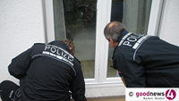 Einbrecher in der Zeppelinstraße – Gleich zwei Gebäude mit ungebetenen Besuchern