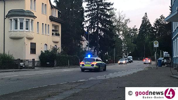 Schüsse in der Cité in Baden-Oos – Polizei Baden-Baden fahndet nach Mercedes CLS Coupé