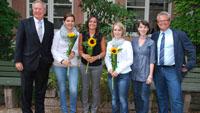 OB Gerstner gratulierte frischgebackenen Verwaltungsfachangestellten