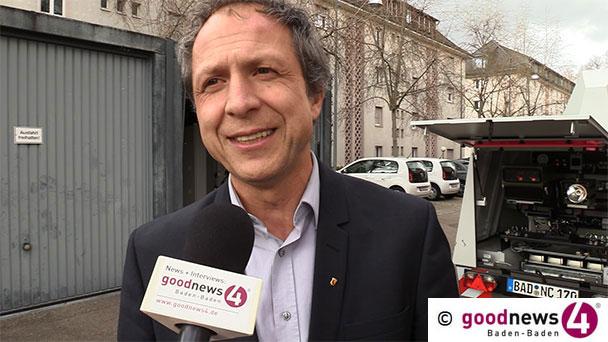 """""""Obszöne Gesten"""" – Baden-Badener Bürgermeister Roland Kaiser berichtet über gute Zahlen und rätselt über ein Phänomen"""