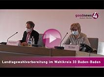 Landtagswahl Wahlkreis 33 Baden-Baden | Roland Kaiser