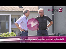 Bürgermeister Roland Kaiser zum Alarmierungskonzept in Baden-Baden