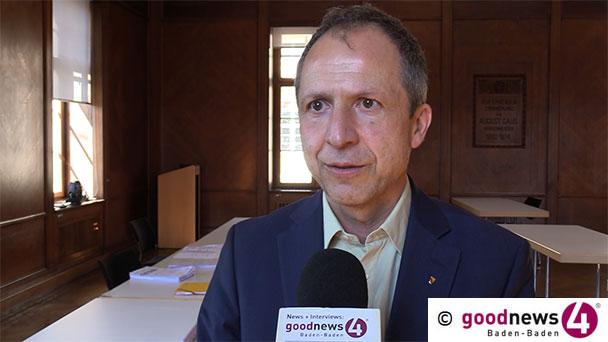 """180 Krankmeldungen im Baden-Badener Rathaus – Bürgermeister Kaiser: """"Vor allem Influenza-Welle"""" – Polizei musste Fußballspiele auflösen – Keine KITA-Gebühren im April"""