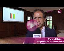 Bundestagswahl und Bürgerentscheid bringen in Baden-Baden Spannung | Roland Kaiser