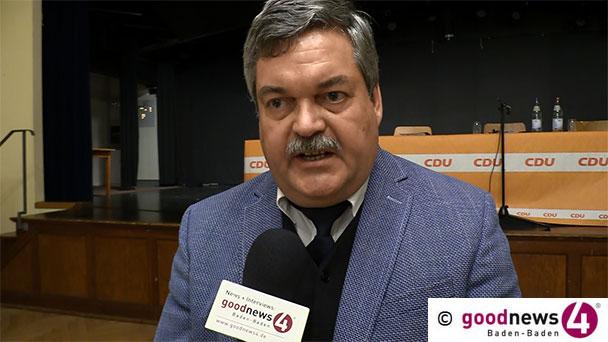 """Wiedergewählter Baden-Badener CDU-Chef Ralf Müller zum Ausgang der Leo-Affäre – """"Bin sehr sicher, dass der ein oder andere sich wundern wird"""""""