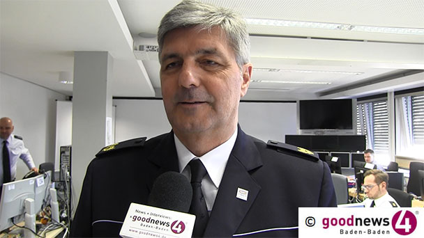 """Kriminalität weitgehend eingeschlafen – Polizeipräsident Renter: """"Wenn ich Baden-Baden mir gestern anschaue, da war überhaupt nichts"""""""