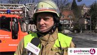 """Feueralarm in Baden-Badener Seniorenheim – Einsatzleiter Schlosser: """"Rauchmelder verhinderte Tragischeres"""""""