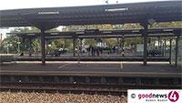 Schotterstein-Attacke im Rastatter Bahnhof – Mehrere Verletzte – Zugverkehr vorübergehend eingestellt