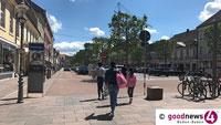 Kostenloses Parken in Rastatt – Stadtverwaltung hilft Einzelhandel und Gastronomen – Generelle Maskenpflicht aufgehoben