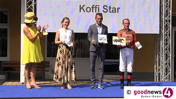 """Koffi Star gewann am Samstag """"goodnews4.de Trophy"""" – Champion Zamrud holte den ersten Gruppe-II-Sieg der Großen Woche"""