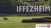 """Trotz Corona """"Große Woche"""" in Iffezheim – 55 Rennen von Baden Racing ausgeschrieben – Mehr als 900.000 Euro Preisgeld"""