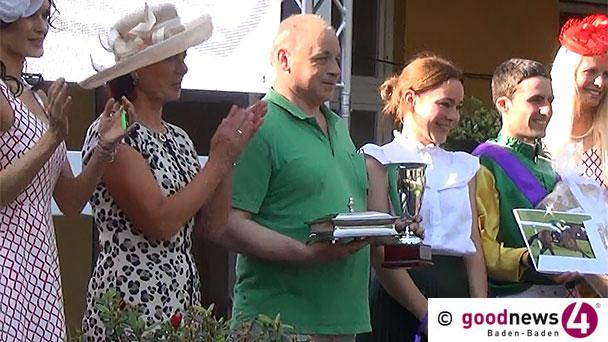 goodnews4-Trophy heute 2. Rennen in Iffezheim – Höhepunkt der Rennwoche am Sonntag – Großer Preis von Baden am Sonntag mit acht Startern – Mega-Viererwette mit 25.000 Euro Garantie