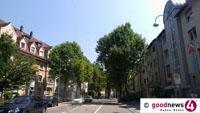 Rücksichtsloser Mercedesfahrer in Baden-Badener Rheinstraße - Junger Radfahrer stürzte